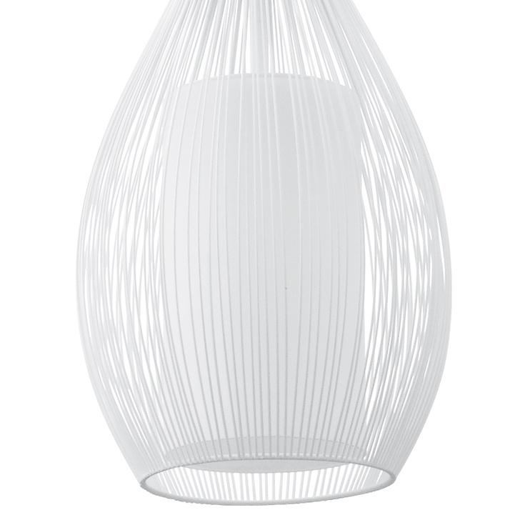 Griestu lampa Eglo Razoni 92251 E27, 60W, balta