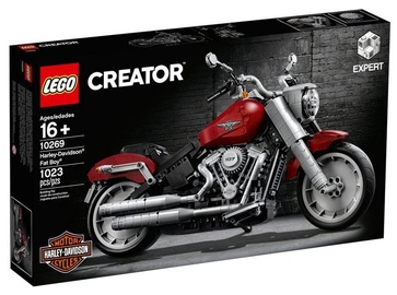Konstruktors LEGO® Creator 10269 Harley-Davidson® Fat Boy®