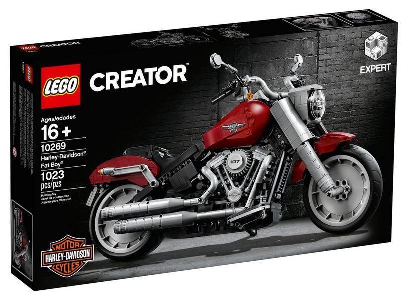 Конструктор LEGO Creator Harley Davidson Fat Boy 10269 10269, 1023 шт.