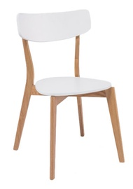 Ēdamistabas krēsls Signal Meble Mosso Dab White, 1 gab.