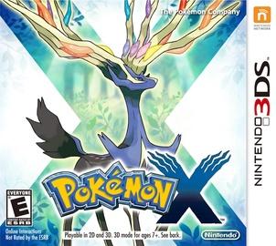 Игра Pokemon X 3DS