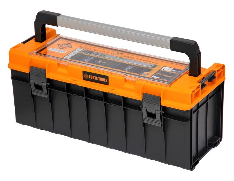 Коробка Forte Tools SKRQPRO700POMLT002, черный/желтый
