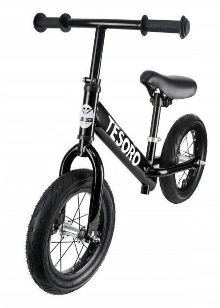 Tesoro PL-12 Balance Bike Black Matt