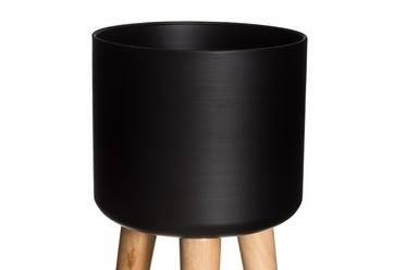 Кронштейн вазона Woody 603292, черный