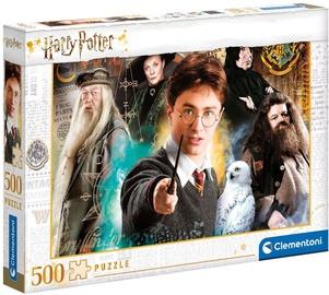 Puzle Clementoni Harry Potter, 500 gab.