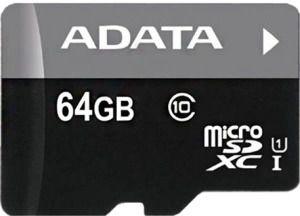Adata 64GB Premier Micro SDXC Class 10 + Micro reader