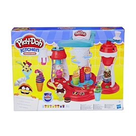 Hasbro Play-Doh Kitchen Ultimate Swirl Ice Cream Maker E1935