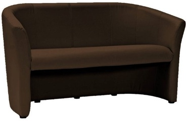 Dīvāns Signal Meble TM-3 Dark Brown, 160 x 60 x 76 cm