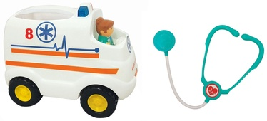 Kiddieland Light And Sound Activity Ambulance 053009