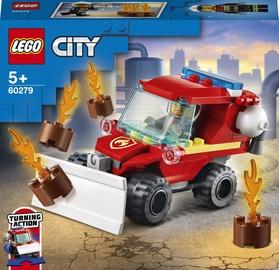 Конструктор LEGO City Пожарная машина 60279, 87 шт.