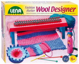 Lena Woll Designer Knitting Princess, Bench And Wheel 42681