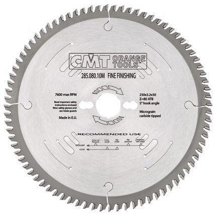 CMT Saw Blade Fine Finishning 15ATB Z72 315x3.2x30