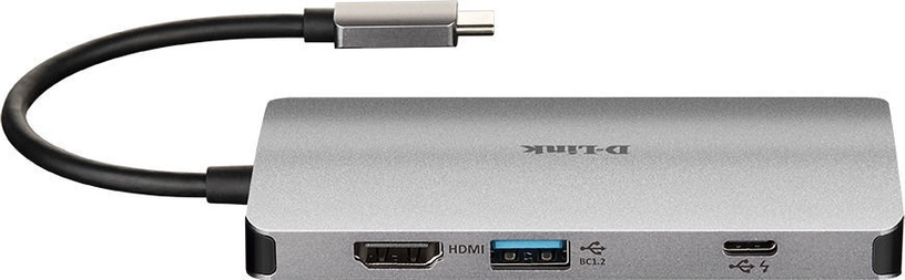 USB-разветвитель (USB-hub) D-Link 8-in-1 USB-C Hub