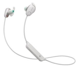 Ausinės Sony WI-SP600N White, belaidės