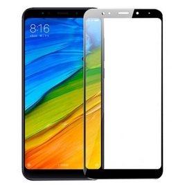 BlueStar 3D Extra Sticky Tempered Glass For Xiaomi Redmi Note 5 / Redmi 5 Plus Full Face Black