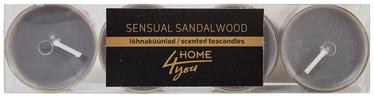 Home4you Teacandles 4pcs Sensual Sandalwood
