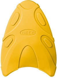 Beco Hydrodynamic Kickboard Yellow