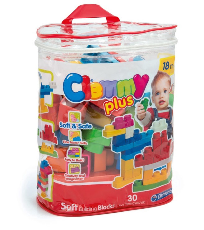 Mänguklotsid Clementoni Baby Clemmy, 30tk