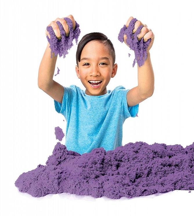 Kinētiskās smiltis Spin Master Vivid Colors Purple, 917 g