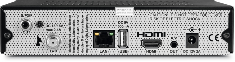 TechniSat DIGIT S3 DVR Black