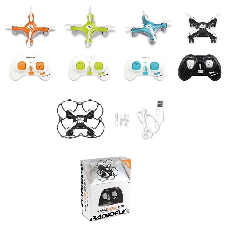 Žaislinis dronas Radiofly Space Microb 08 40002