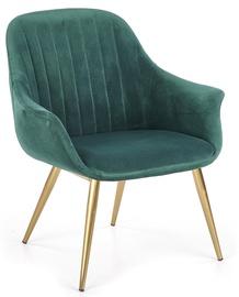Кресло Halmar Elegance I Dark Green, 72x60x79 см