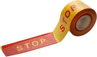 "PIIRDELINT ""STOP"" 10CM KOLLA/PUNA 100M"