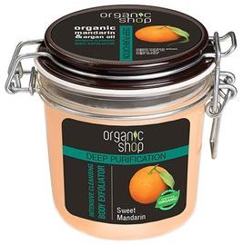 Organic Shop Intensive Cleansing Body Exfoliator Sweet Mandarin 350ml