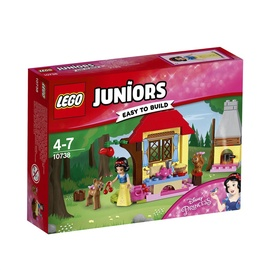 Konstruktors Lego Juniors Snow White's Forest Cottage 10738