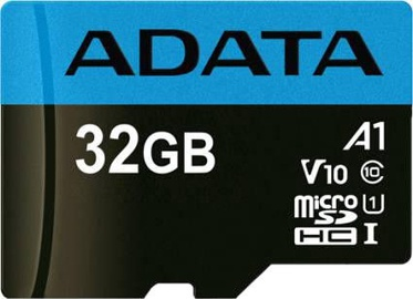 A-Data Premium microSDHC 32GB UHS-I V10 Class 1 + Adapter