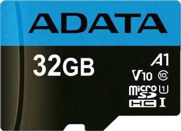 Atminties kortelė microSDHC 32GB C10 Premier ADATA