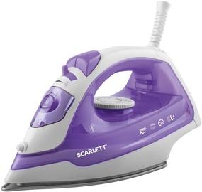 Утюг Scarlett SC - SI30P10, белый/фиолетовый