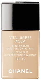 Chanel Vitalumiere Aqua Fluid Ultra-Light Makeup SPF15 30ml 10