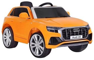 Bērnu vienvietīgs elektriskā automašīna Audi Q8, oranžs