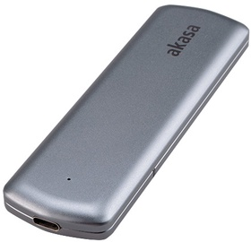 Корпус Akasa Portable M.2 SATA/NVMe SSD, M.2
