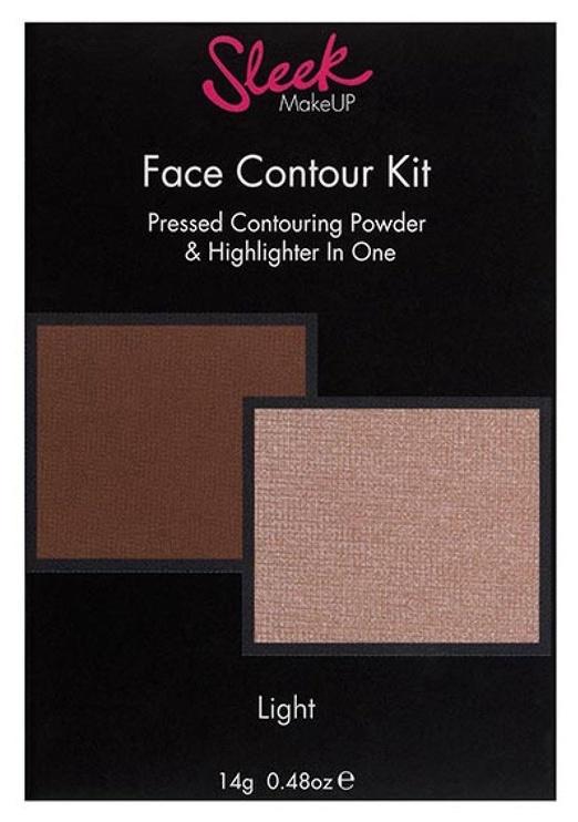 Sleek MakeUP Face Contour Kit 14g Light