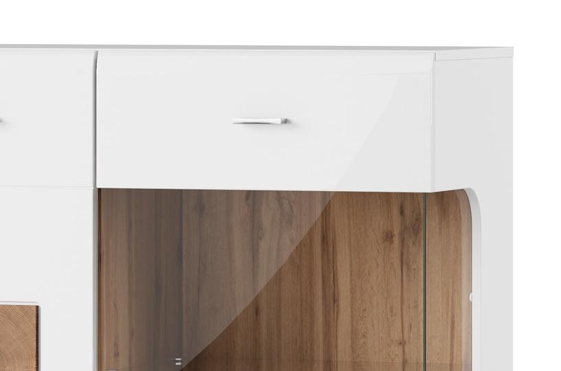 Vitrininė spintelė Wood, 89 x 145 x 40 cm