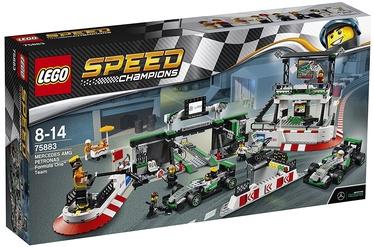 Konstruktorius LEGO Speed Champions Mercedes AMG Petronas Formula One Team 75883