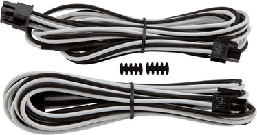 Corsair Premium Individually Sleeved EPS12V/ATX12V Cables Type 4 (Gen 3) White/Black