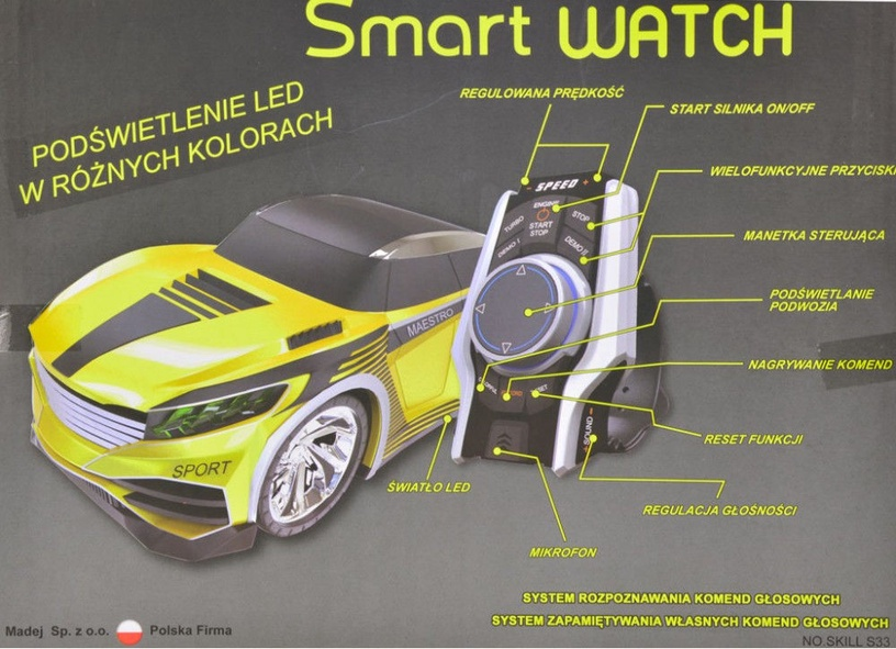 Madej R/C Car Maestro Voice Commands 000492