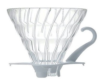Hario V60 Glass Dripper 0.5l White