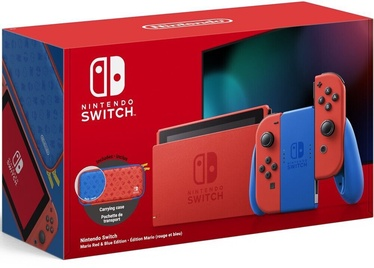 Nintendo Switch Mario Red & Blue Edition V2