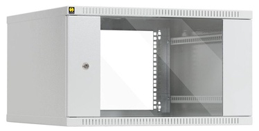 Netrack Wall Cabinet 19'' 6U/600mm Glass White