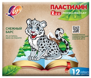 Plastilinas Zoo 29C 1722-08 12 spalvų