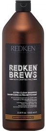 Redken Brews Extra Clean Shampoo 1000ml