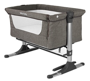 Milly Mally Side By Side Sleeping Crib Coffe