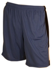 Bars Mens Football Shorts Blue 190 XS