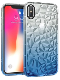 Mocco Trendy Diamonds Back Case For Huawei Mate 20 Lite Blue