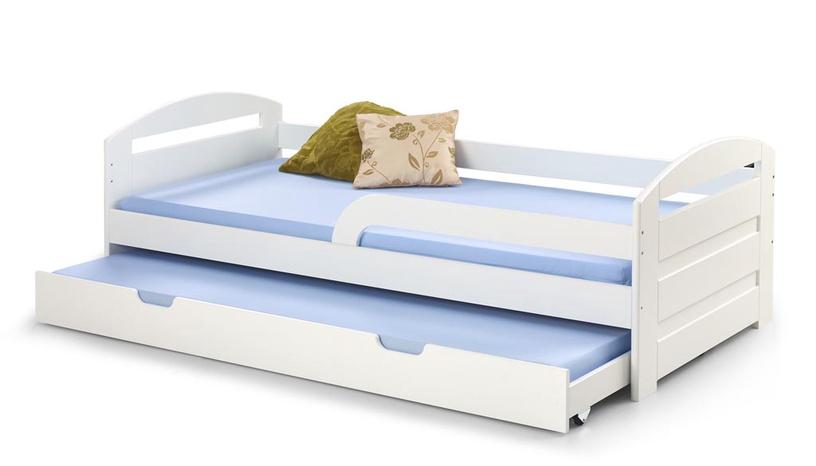 Vaikiška lova Halmar Natalie 2 White, 209x96 cm