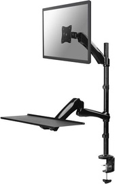 NewStar FPMA-D500KEYB Workplace Desk Mount Black